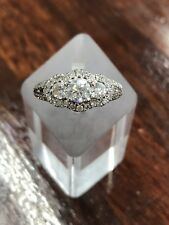 ESTATE - Vera Wang  Diamond Cluster Ring 18ct White Gold