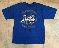 1999 Orlando Miracle Inaugural Year T-Shirt Autographed w/Players & Coaches