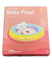 "SUNNY KIDS RAINBOW BABY FLOAT NEW IN BOX 10"" X 33"""