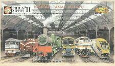 Malaysia Train 2010 Nippon overprint Railway Locomotive Transport KTM (MS) MNH