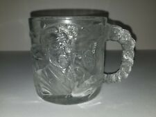 McDonalds Batman Forever Two Face Glass Mug 1995