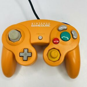 Official Original OEM Nintendo GameCube Controller Spice Orange Nice Shape