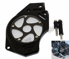 Front Sprocket Chain Cover Guard Black For KAWASAKI 650R Versys Vulcan S 650 US