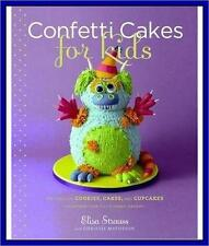 CONFETTI CAKES FOR KIDS *BRAND NEW** HARDCOVER