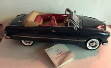 Franklin Mint Ford Custom Convertible 1949 Navy Blue 1:24 Slightly Used (No TOP)