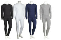 Mens 2PC Waffle Thermal Underwear Set Top Bottom Long John Johns Pants S-XL