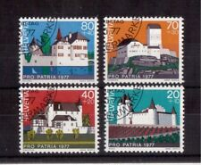 SWITZERLAND 1977, SET OF 4 VERY FINE USED # B447/50 !!