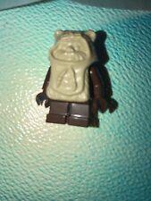 genuine LEGO STAR WARS PAPLOO EWOK minifigure lot 8038 ROTJ ENDOR 28H