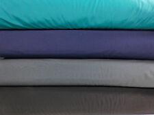 Stoff Softshell Fleece uni Doubleface zweifarbig elastisch Winddicht 25x150cm