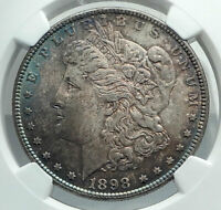 1898 UNITED STATES of America SILVER Morgan US Dollar Coin EAGLE NGC MS i78874