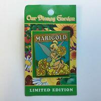 WDW - Our Disney Garden 2005 - Tinker Bell / Marigold - LE 2000 Disney Pin 39374