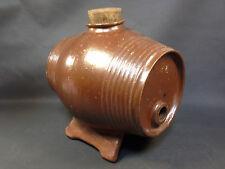 Ancienne poterie vinaigrier en grès vernissé début 20ème art paysan campagne