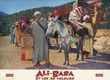 FERNANDEL  ALI BABA ET LES 40 VOLEURS 1954 VINTAGE LOBBY CARD #2