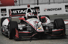 Helio Castro-Neves SIGNED Penske Racing Dallara, St Petersburg Indycar 2015