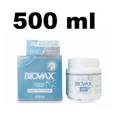 L'BIOTICA BIOVAX KERATIN + SILK HAIR MASK 500 ML-LIMITED EDITION JEDWAB Lbiotica