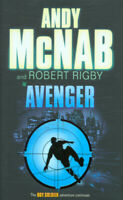 Avenger by Andy McNab Robert Rigby (Hardback) Expertly Refurbished Product