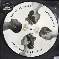 """rare KITTY DAISY AND LEWIS vs baby bye RSD 2015 PICTURE DISC 12"""" Mick the clash"""