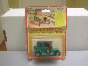 Matchbox Models of Yesteryear Y-3 1910 Benz Limousine in rare blister card MIB