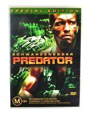 DVD Predator Arnold Schwarzenegger Special Edition 2 Discs Region 4