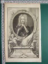 C1812 georgiano impresión ~ Charles Mordaunt Earl of Peterborough