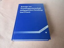 Beiträge zur Erziehungswissenschaft,pädagogischen Forschung und Praxis-W. KLINKE