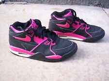 2012 Nike Air Flight 89 Black/Fireberry/Anthracite/White Youth Shoes! Size 5Y