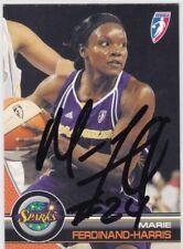 Autographed Marie Ferdinand-Harris 2008 Wnba Basketball Tc Los Angeles Sparks 28