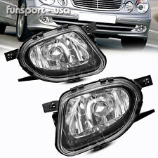 for 2003-2006 Mercedes Benz E-Class W211 Clear Bumper Fog Light Lamps Left+Right