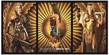 "New WONDER WOMAN 9""x18"" Original Promo IMAX Movie Poster 2017 DC Gal Gadot 46cm"