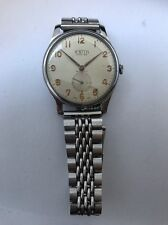 ASTIN Mod 29, All Stainless Steel, Swiss Made, Manual winding, vintage