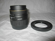Quantaray 28-80mm 1:3.4-5.6 Multi-Coated 55MM Lens W/ Rubber Len Hood