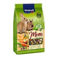 Vitakraft Premium Menü Vital für Zwergkaninchen - 3kg - Futter Kaninchenfutter