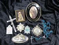 altes Konvolut Religiöses, Klosten, Andenken, Rosenkranz