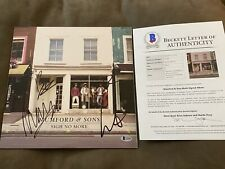 Mumford And Sons Signed Sigh No More Vinyl Record Signed By 4 Beckett LOA COA
