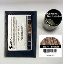 Samson Hair Fibers LIGHT BROWN Refill (25gr) suitable any hair fiber container