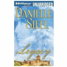 LEGACY unabridged audio book on CD by DANIELLE STEEL - Brand New! 8 CDs 10 Hours