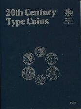 WHITMAN 20th Century Type Coins Folder Album #9046