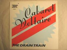 """CABARET VOLTAIRE """"THE DRAIN TRAIN"""" 12"""" + BONUS 12"""" MAXI"""