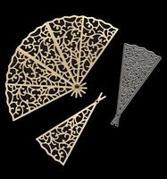 Signature Dies by Joanna Sheen - Large Filigree Fan SD099