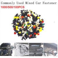 Door Panel Trim Plastic Mixed Clips Tool Car Fastener Clip Auto Bumper Fender