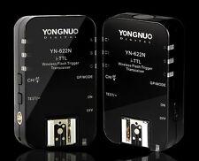 2x transmetteurs déclencheur YN-622N sans-fil i-TTL pour Nikon