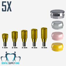 X 5 Implant Locator Abutment Flat Set Hiossen Regular