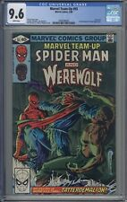 Marvel Team-Up # 93 CGC 9.6 Were-wolf Appearance