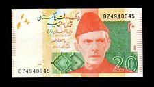 Banknote World Pakistan In South Asia, 1 Pce Of 20 Rupee 2012, P-55,