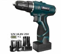 Electric Screwdriver Cordless Rechargeable Lithium Screw Driver Gun Power Tool