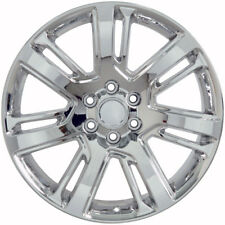 "24"" Cadillac Escalade GMC Chevy Stye Replacement Rims Wheels Chrome Denali Set 4"