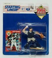 DAVE NILSSON Milwaukee Brewers Kenner Starting Lineup MLB SLU 1995 Figure & Card