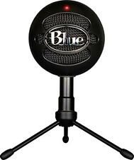 Blue Snowball iCE Black Condenser Microphone, Cardioid