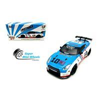 Mini GT 1:64 Nissan GT-R R35 Type 1 (COSMIC BLUE) #66 Malaysia Exclusive