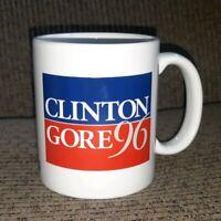 Coffee Mug Tea Cup Gift Novelty President Bill Clinton Al Gore 1996 Democrat USA
